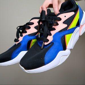 COPY - Puma girl power neon colorblock sneakers s…